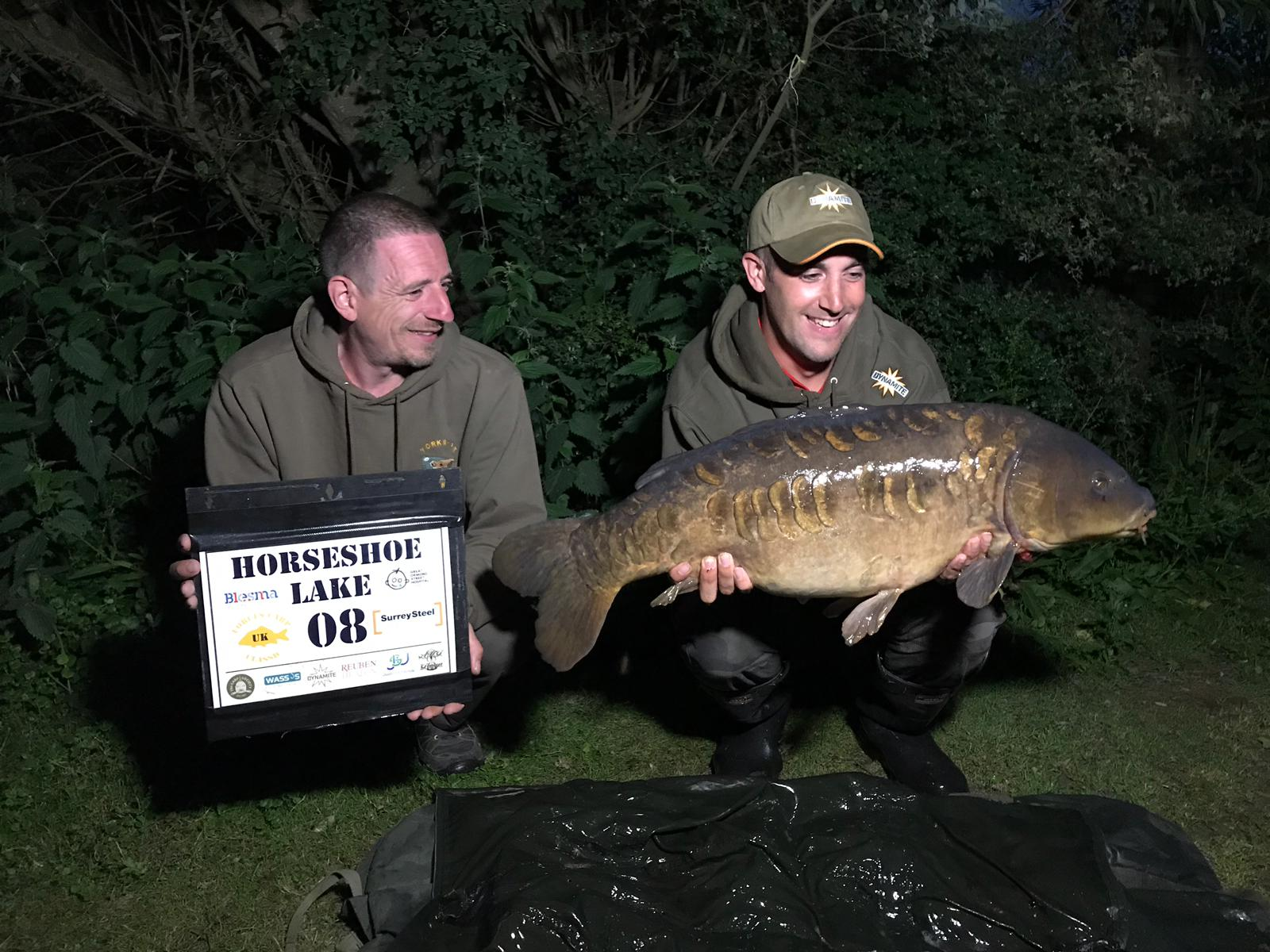 Peg 8 - Adam with a stunning mirror 25