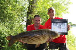 Peg 8 - Anthony Fox with the biggest com