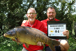 Peg 4 - A new UK PB for Karl at 27.14  .
