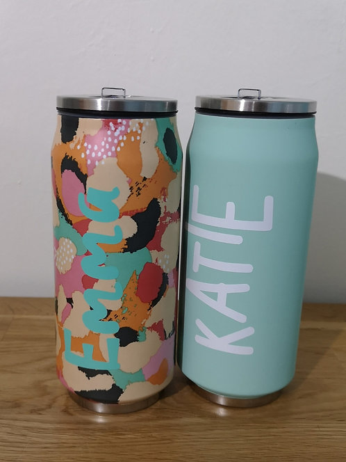 Tumbler with straw & name