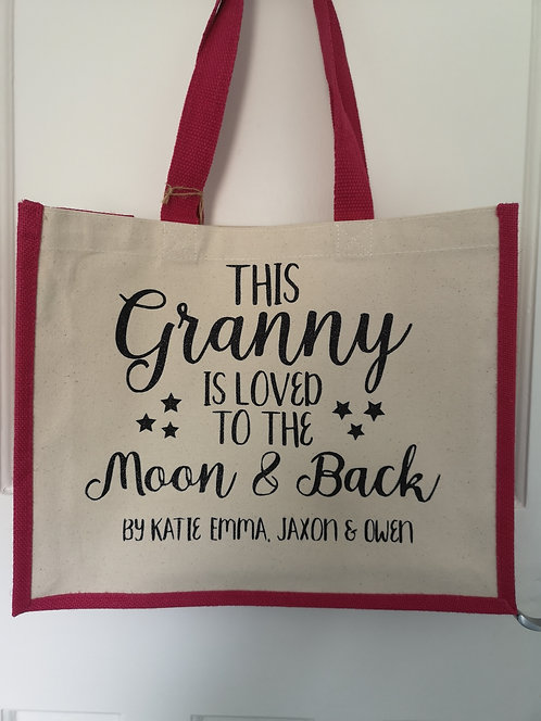 Loved to the Moon Bag