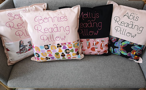 Fully personalised Reading Pillow