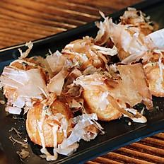 炸章鱼小丸子 Takoyaki