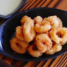 炸鱿鱼 Fried Calamari Rings