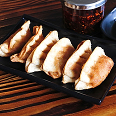 炸饺子 Fried Potsickers