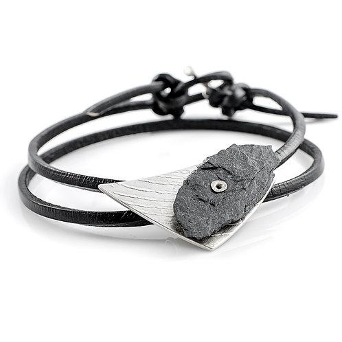 Silver & Ballachulish Slate Wristwear