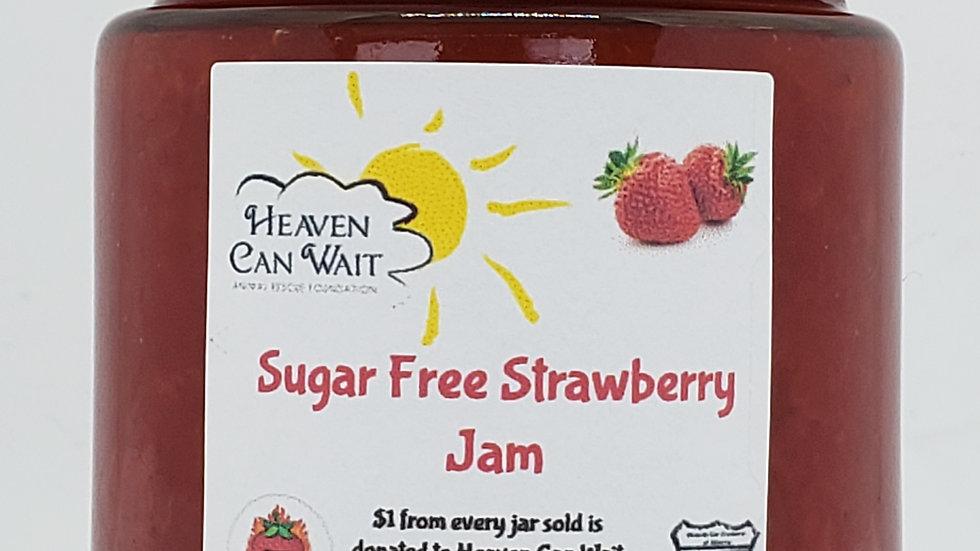 SUGAR FREE Strawberry Jam 250ml for Charity