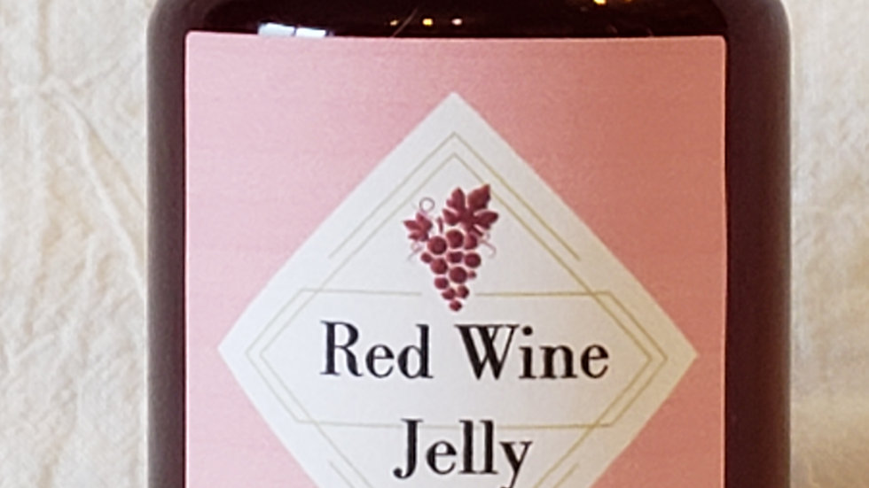 Red Wine Jelly 125ml