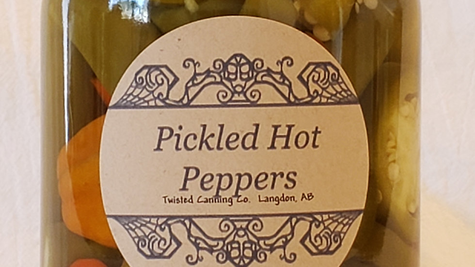 Pickled Hot Peppers 500ML