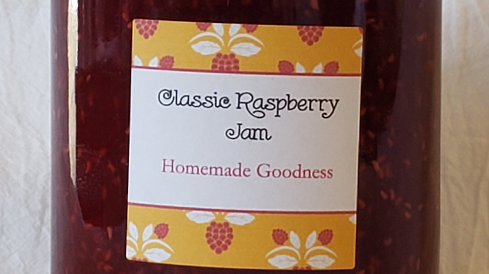 Classic Raspberry Jam  500ml