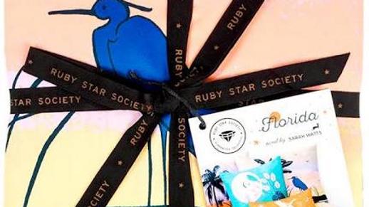 Florida Bedding Panel SARAH WATTS Ruby Star Society