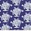 Thumbnail: Kaffe Fassett - Backing Fabric - Stone/Royal