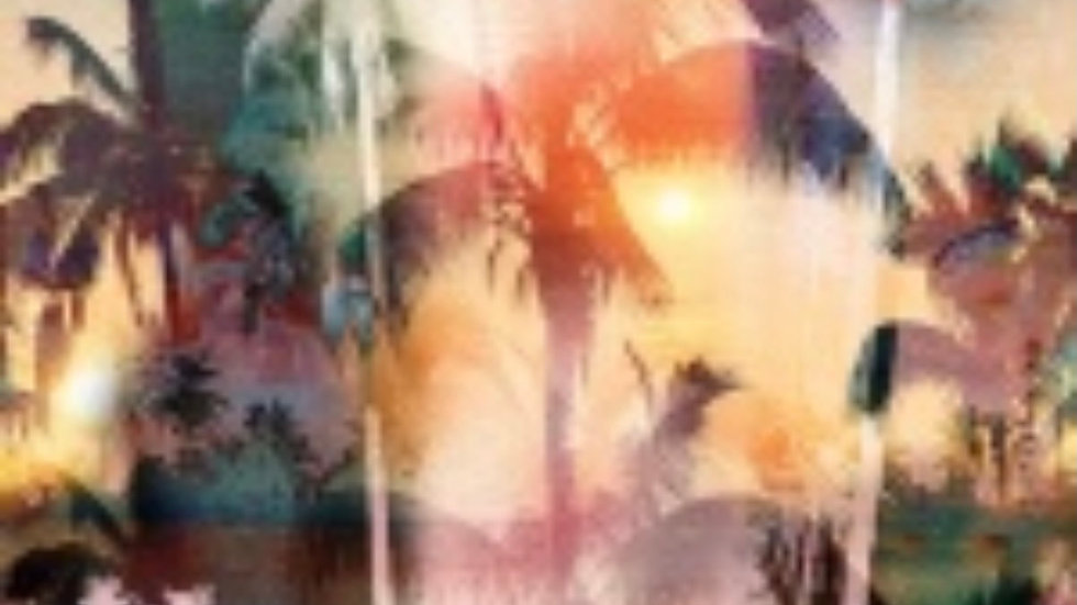 Tropical Sunset HOFFMAN &CO Meet Me In Paradise