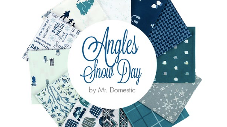 Angles Snow Day FQ Bundle by Mr. Domestic