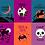 Thumbnail: Halloween Sack Panel RUBY STAR SOCIETY