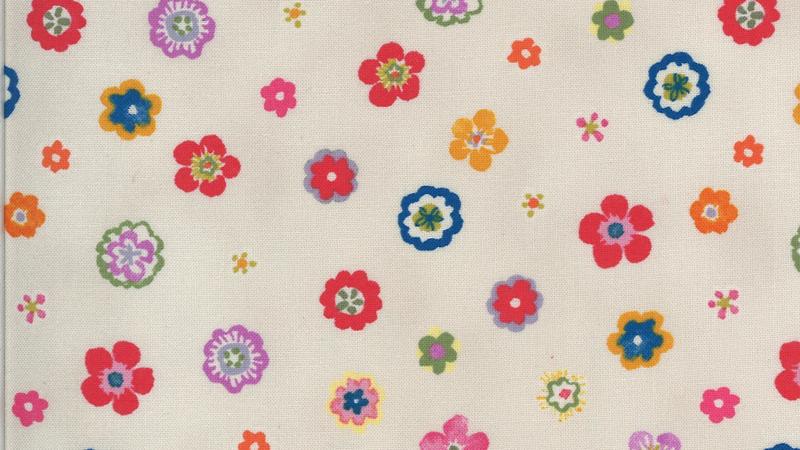 Lulu Flowers CHEZ MOI Moda Fabrics