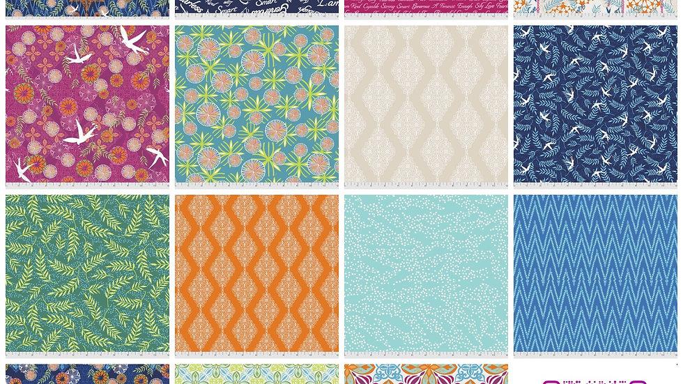 Enchanted FQ Bundle VALORI WELLS FreeSpirit Fabrics