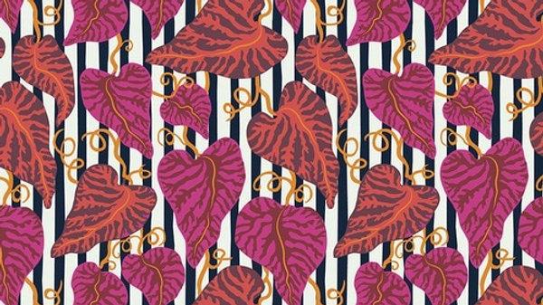 Tropical Leaf KATHY DOUGHTY FreeSpirit Fabrics