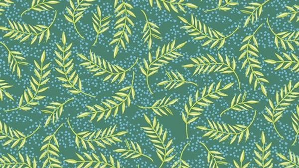 Olive Branches Emerald VALORI WELLS Enchanted