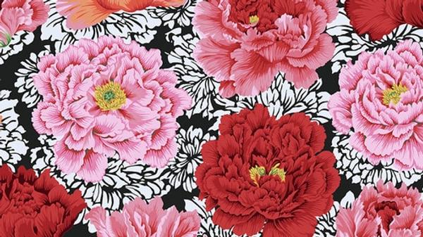 Brocade Peony KAFFE FASSETT FreeSpirit Fabrics