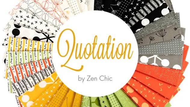 Quotation FQ Bundle MODA Zen Chic