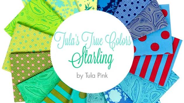 Starling FQ Bundle TULA PINK True Colors