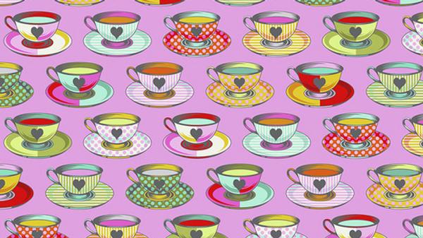 Tea Time TULA PINK Curiouser & Curiouser