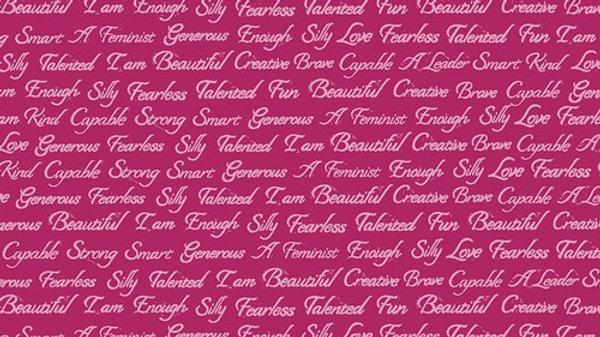 I Am Script - Pomegranate VALORI WELLS Enchanted