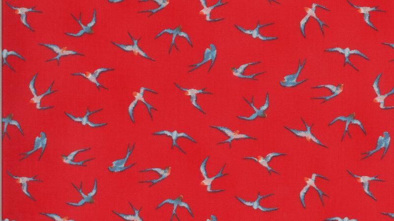 Lulu Flying Hi CHEZ MOI Moda Fabrics