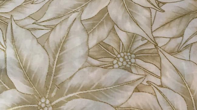 Poinsettia Digital Print HOFFMAN