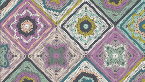 Crochet Sampler AGF Hooked by Mr. Domestic
