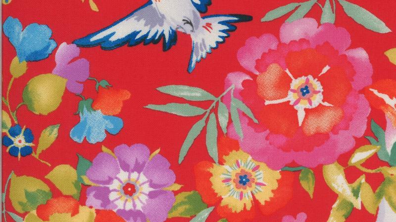 Lulu Flights of Fancy CHEZ MOI Moda Fabrics