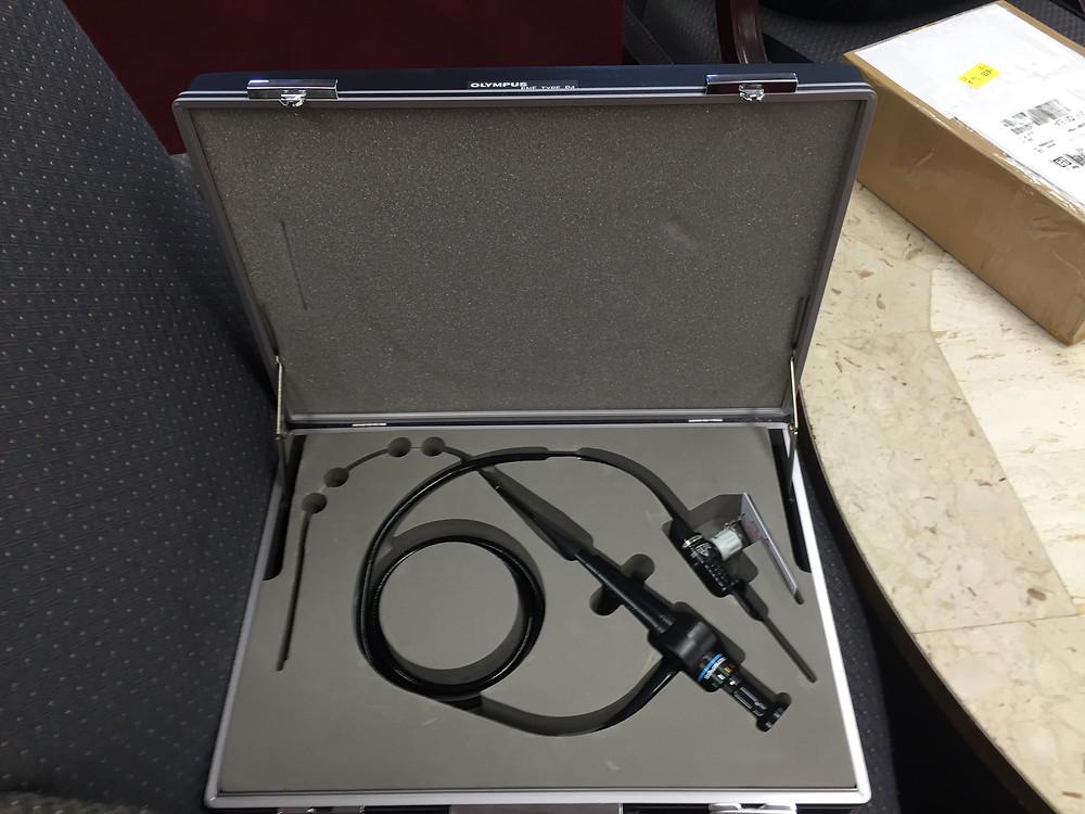 endoscopes Olympus ENF-P4 Nasoscope video