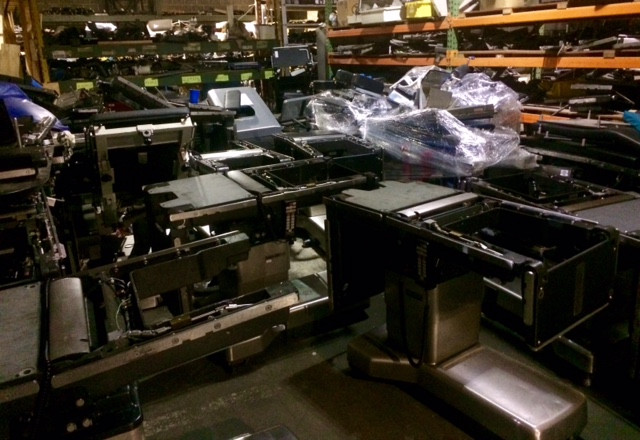 parts and pieces of surgical tables