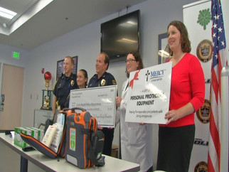 CRPD receives donation for medical equipment