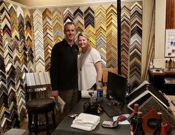 Del and Darcy Bloss, owners