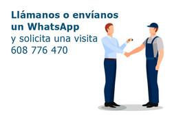 llámanos o enviamos un whatsapp