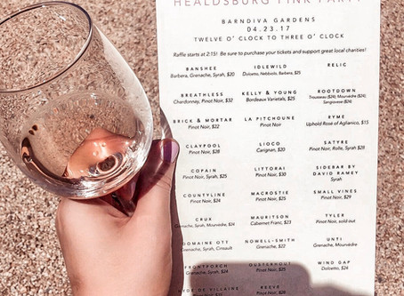 A Day of Rosé at the Healdsburg Pink Party: Three Top Wine Picks