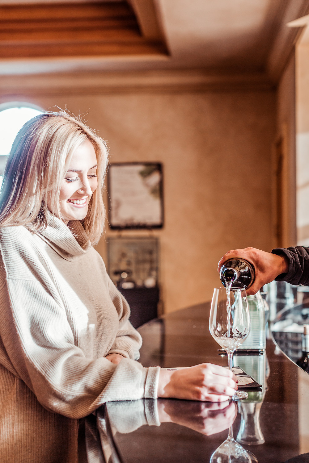 Audra tavelli, sonoma grape girl, wine blog, wine blogger, what to bring wine tasting, what to wear wine tasting, wine blogger, sonoma county blogger, ferrari carano, ferrari carano winery, wine tasting, healdsburg wineries, sonoma wine tasting
