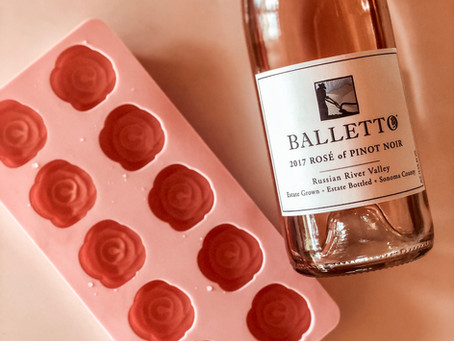 Keep Your Rosé Chilled on Hot Summer Days with Rosé Ice Cubes