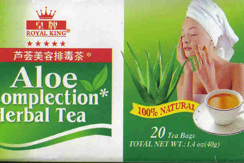 Royal King Aloe Complection Herbal Tea 20bags 5 boxes Free Shipping