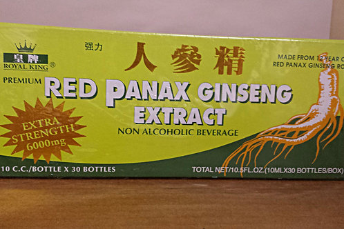 Royal King Red Panex Ginseng Extract 10x10cc Free Shipping