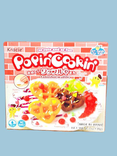 Kracie PoPinCookin tanoshii waffle 8 boxes Free Shipping