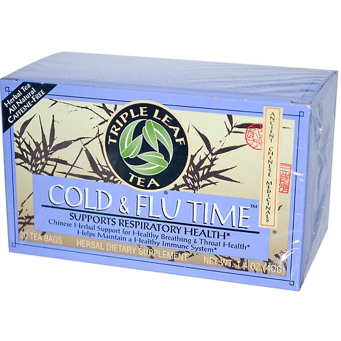 Triple Leaf Cold & Flu Time 20bags 8 boxes Free Shipping