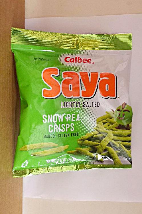 Calbee Snow Pea Crisp Gluten Free 70gm 4 pkg  Free Shipping