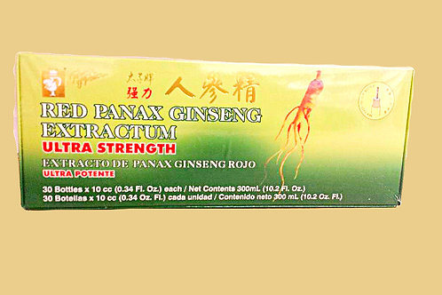 Prince of Peace Red Panax Ginseng Extractum 30x10c.c. 5 boxes Free Shipping
