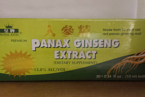 Royal King Panax Ginseng Extract Premium 30x10ml 3 boxes Free Shipping
