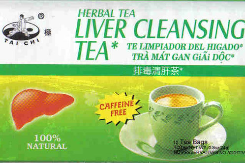 Tai Chi Liver Cleansing Tea 12bags 12 boxes Free Shipping