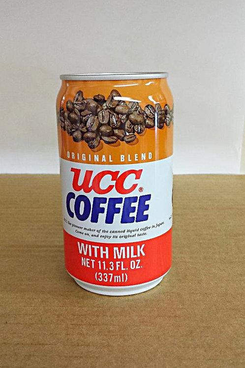 UCC Coffee with Milk 337ml Free Shipping