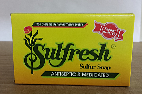 Sulfresh Sulfur Soap 85gm Free Shipping